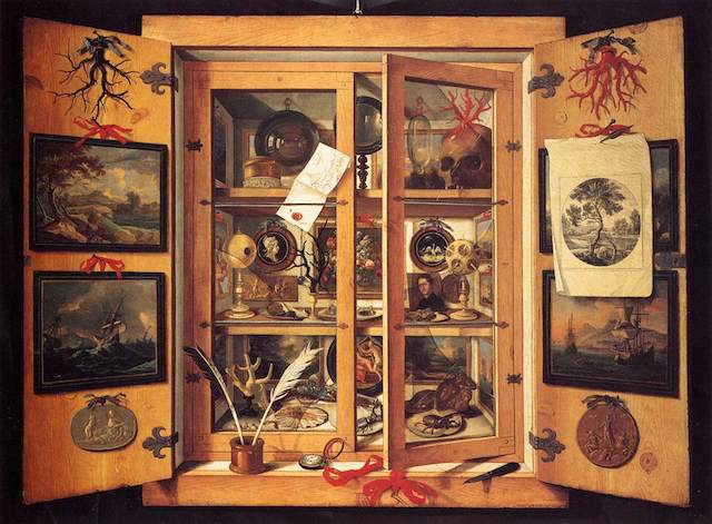 Cabinet of Curiosities (1690s) by Domenico Remps