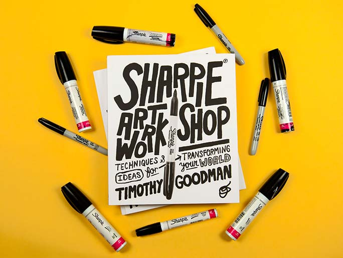 Sharpie Workshop Book by Timothy Goodman
