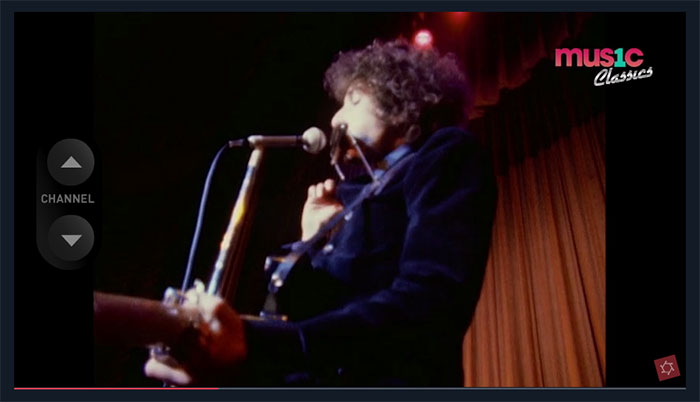 Bob Dylan Interactive Video