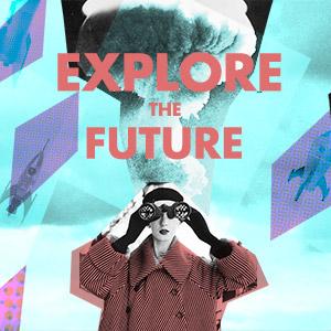 explore the future illustration