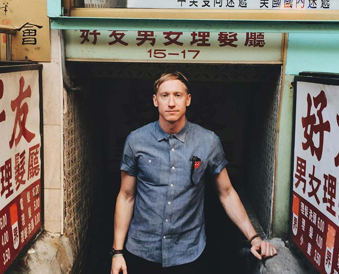 Timothy Goodman in china town