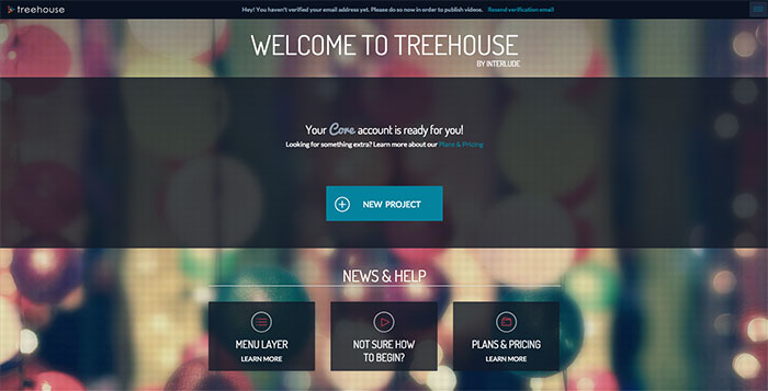 Treehouse interactive video interface