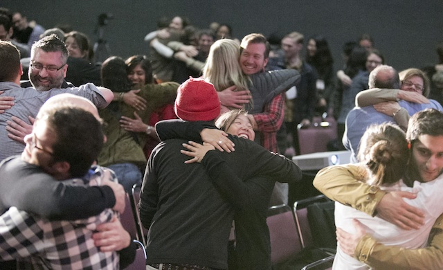 Hugs at WebVisions